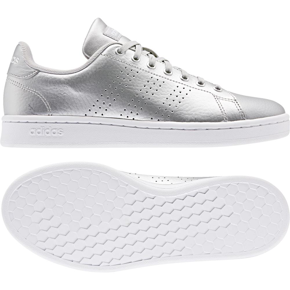ADIDAS EE8197 ADVANTAGE sneakers scarpe donna silver | eBay